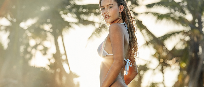 Elastic bikini