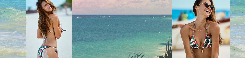 Palm tree swimsuit