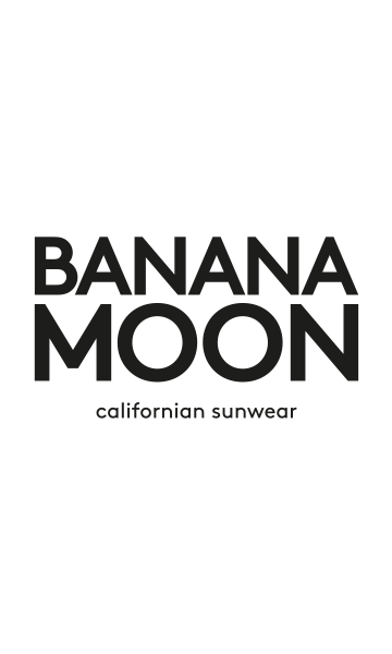 stripe Banana bikini moon